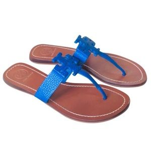 Tory Burch Moore Sandals in Blue